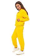 Лимонный костюм кофта и штаны, фото 2