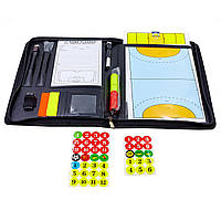Тактическая доска для футбола и мини-футбола, для тренера баскетбола, волейбола Zelart 42 x 28,5 см (C-6383)