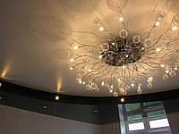 Глянцевый многоуровневый потолок