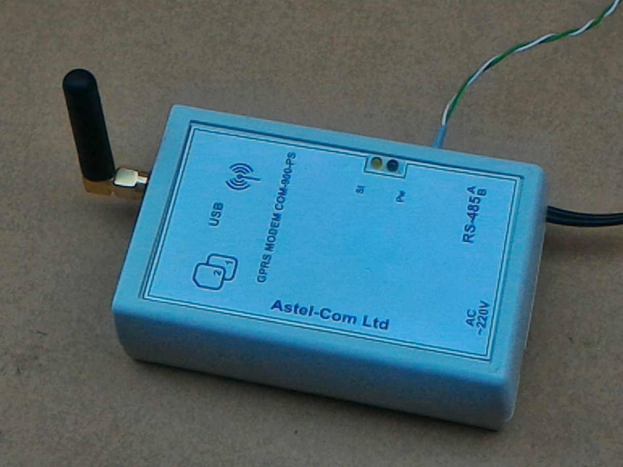 Модем СОМ-900-PSG, аналог програмованого контролера MCL 5.10 для лічильників GAMA