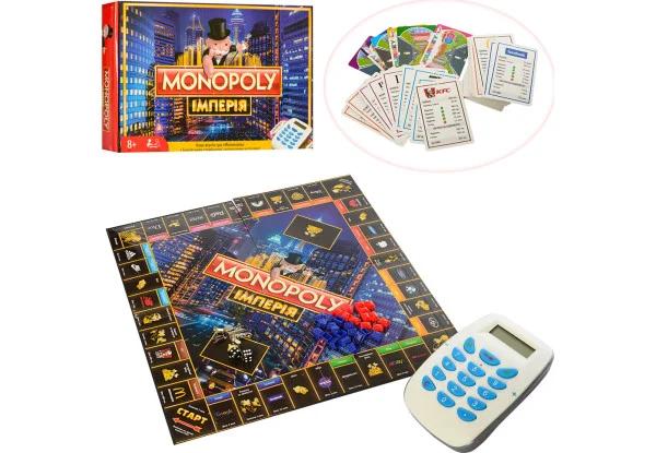 Монополия Настольная игра Империя M3801