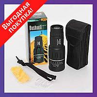 Монокуляр Bushnell 16x52 Power View монокль / Бушнел / Подзорная труба с чехлом / Карманный бинокль