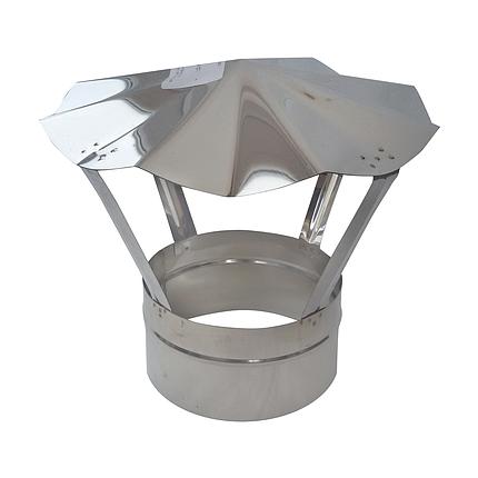 Грибок ø200 мм из нержавеющей стали AISI 304 для дымохода вентиляции дымоходный Версия-Люкс, фото 2