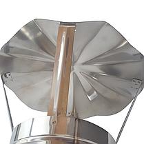 Грибок для дымохода 140 мм из нержавеющей стали «Версия Люкс», фото 3