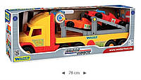 Перевозчик с двумя авто Формула Super Truck 36620 Wader