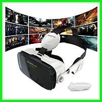 3D очки виртуальной реальности с пультом и наушниками VR BOX Z4