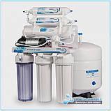 Фильтр обратного осмоса Aqualine Ro-6P с насосом и минерализатором, фото 3