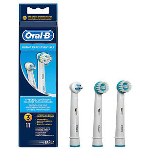 Змінні насадки для електричної зубної щітки ORAL набір для брекет-систем Ortho (OD17-2 + Power tip-1)