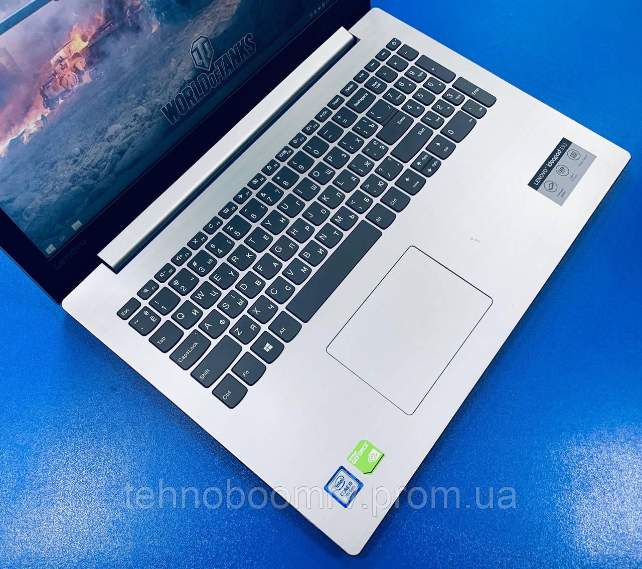 Игровой Lenovo/15.6 FHD/Intel i5-7200U 3.1GHz/DDR4 6GB/Карта MX130 2GBНет в наличии 2
