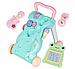 Детские интерактивные Ходунки толокар Baby Лягушонок (Mint), фото 9