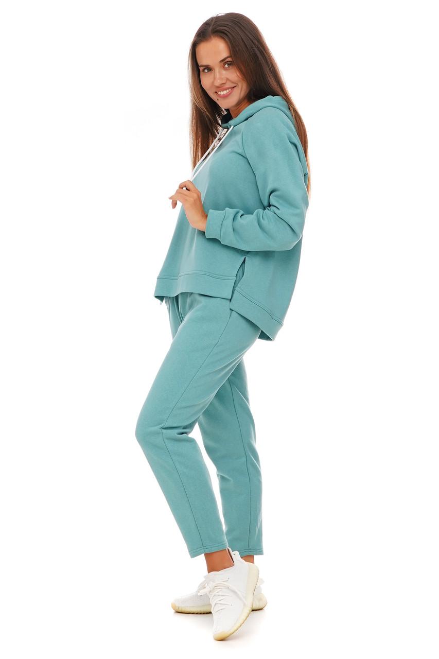 Женский прогулочный костюм худи и штаны