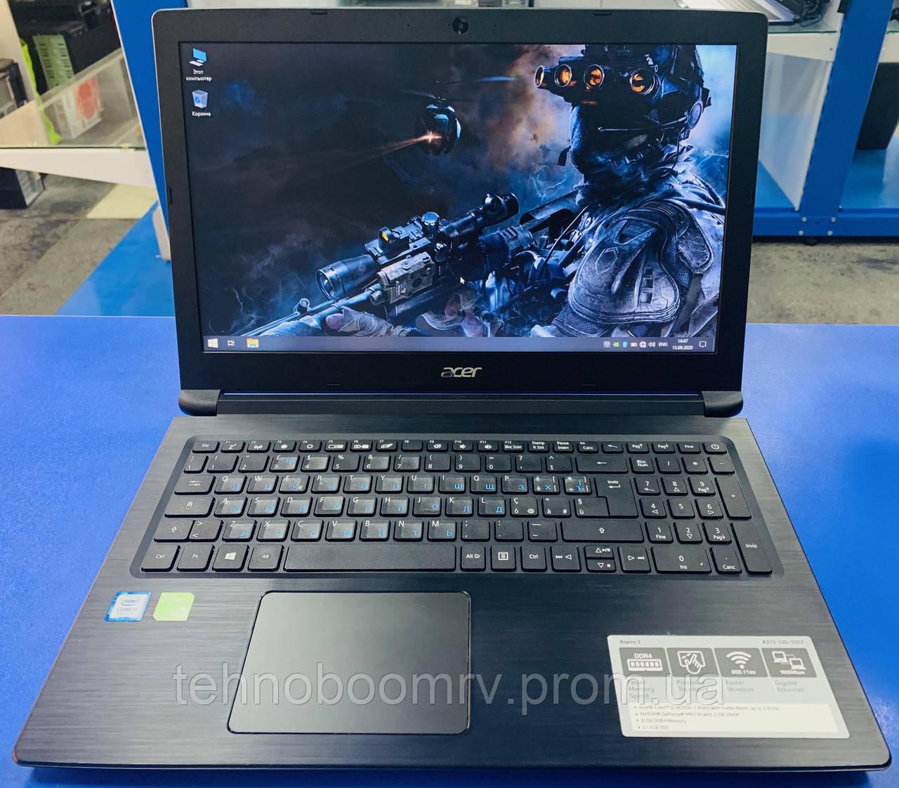 Игровой Acer/Intel i5-8250U 3.4GHz/DDR4 8GB/SSD 512GB/MX130 2GBНет в наличии