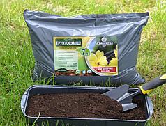 Грунт для цветущих растений с биогумусом, 7 л