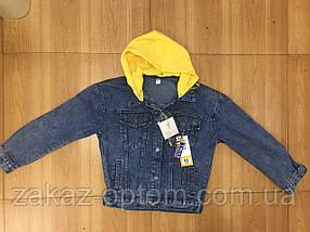Куртка женская джинсовая оптом (M-L-XL)Китай-59654