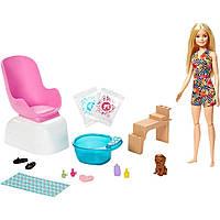 Игровой набор Barbie для маникюра и педикюра  GHN07