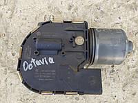 Моторчик 1Z1955119C стеклоочистителя переднего стекла Октавия А5, фото 1