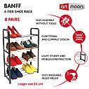 Подставка для обуви Artmoon Banff 4-х ярусная 50x20x68 cм (699904), фото 7