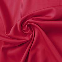 Сатин Люкс красный однотонный, ш. 240 см, фото 1