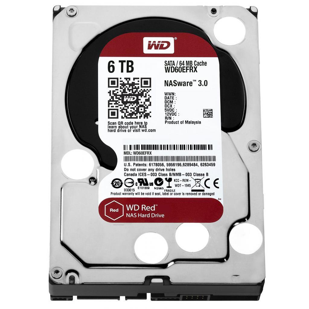 "Жесткий диск 3.5"" 6TB Western Digital (WD60EFRX)"