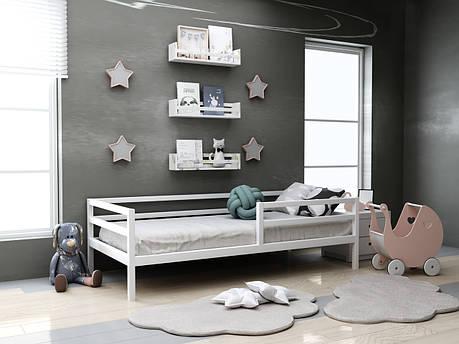 Дитяче дерев'яне ліжко Кіндер ТМ MegaOpt, фото 2