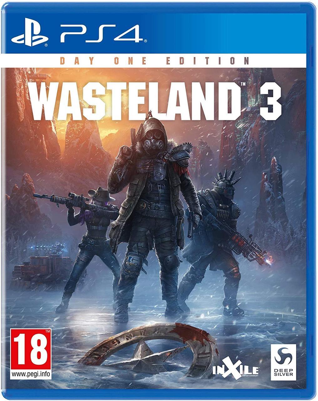 Wasteland 3 Day One Edition (російські субтитри) PS4