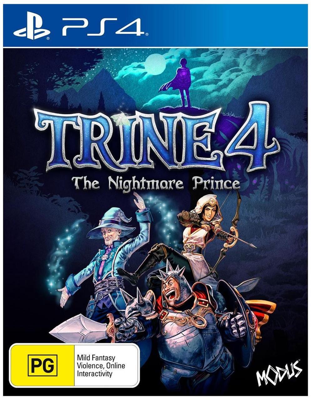 Trine 4 The Nightmare Prince (російські субтитри) PS4