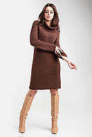 Вязаное платье - свитер крупной вязки в размере ун1(42-46), ун2(48-52), фото 1