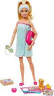 Игровой набор Barbie Активный отдых, Спа процедуры, Barbie Spa Doll, Blonde with Puppy