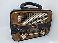 Радио приёмник ретро KEMAI MD-1903BT, фото 1