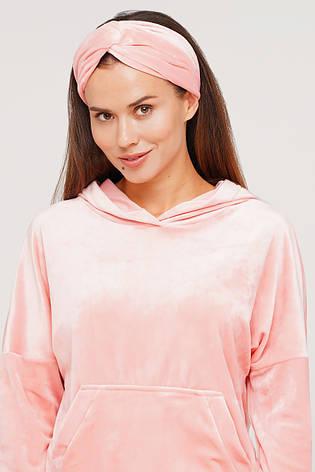 Персиковая повязка  для волос, фото 2