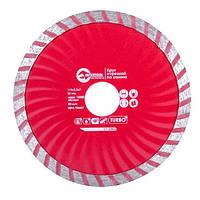 Диск отрезной Turbo алмазный 115мм, 22-24% INTERTOOL CT-2006