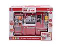 Ігрова кухня для ляльок 29 см барбі (defa) світло, звук, на батар. Мікр.піч, холодильник, мийка та ін 66079, фото 3