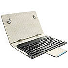Bluetooth клавиатура-чехол Lesko для планшета 10.1 дюйм Black 3181-9528, КОД: 1174775, фото 3
