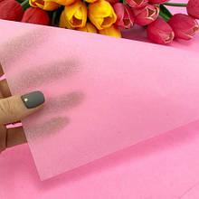 Бумага тишью 55х60 см (5 шт), цвет розовый