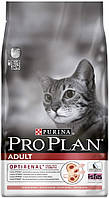 Корм Purina ProPlan Adult Salmon для кошек, с лососем, 400г