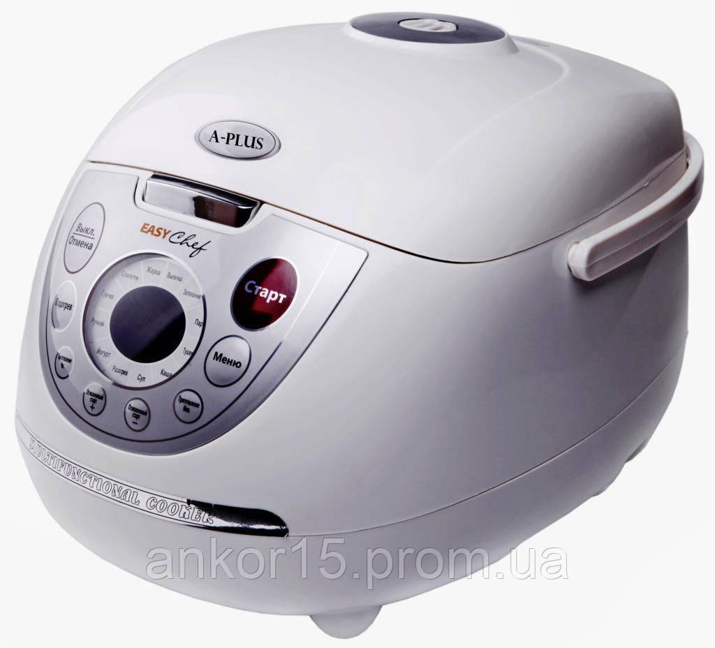Мультиварка A-Plus MC-1465 (11 программ, 4 л) 900W + пароварка