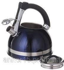 Чайник A-PLUS зі свистком 3.0 л (1382)