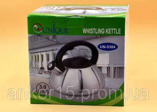 Чайник газовый UNIQUE UN-5304 3.0L