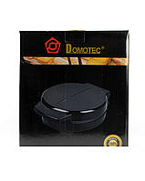 Тостер вафельниця електрична Domotec MS-7710 электровафельница