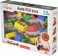 Набор машинок Kid Cars 12 шт. Tigres 39243