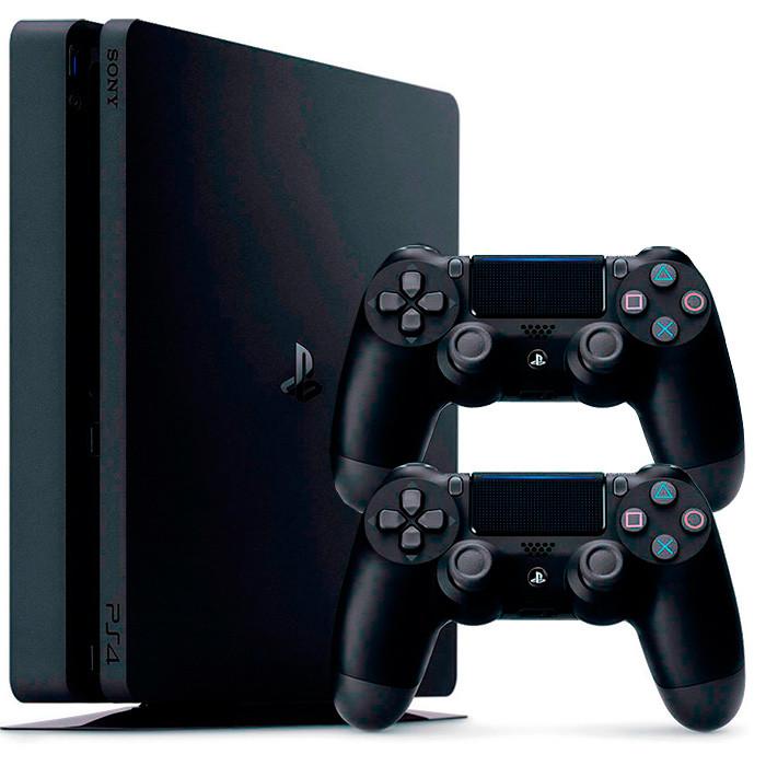 Ігрова приставка PlayStation 4 1Tb Black (Last of Us, God of War, Days 2