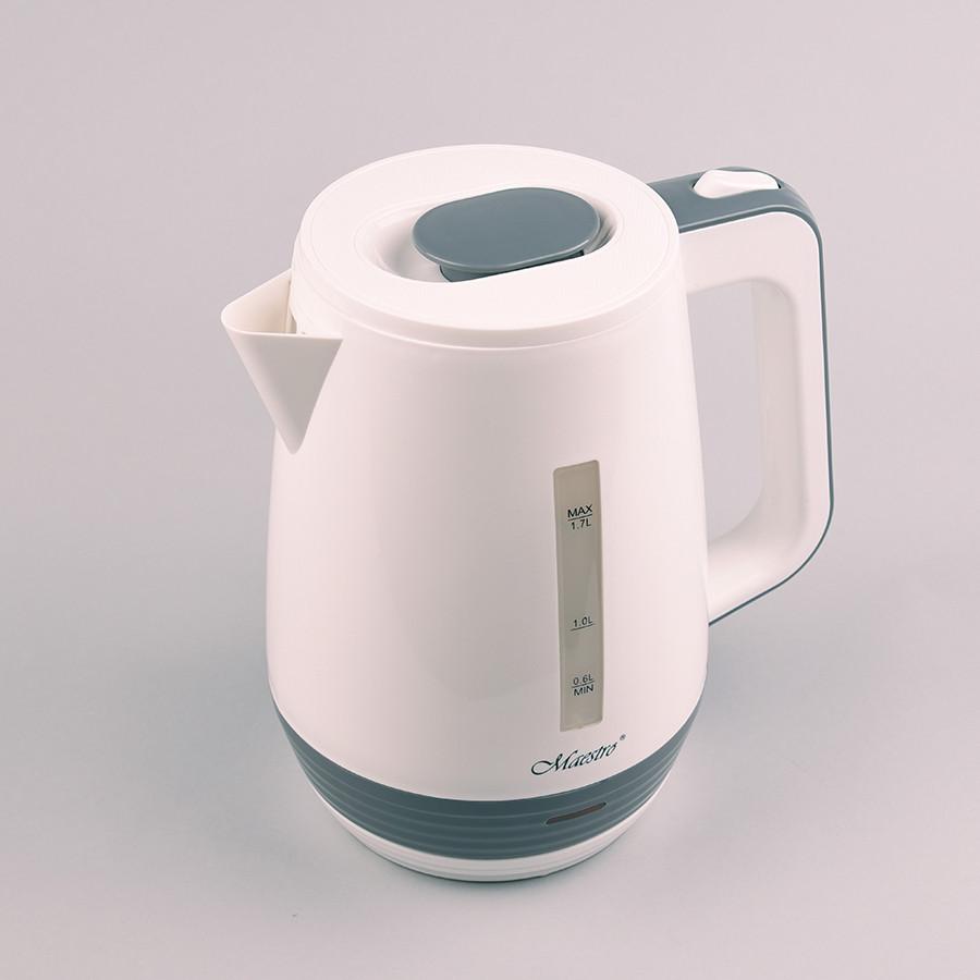 Электрочайник Maestro Mr-033 Белый Электрический Чайник