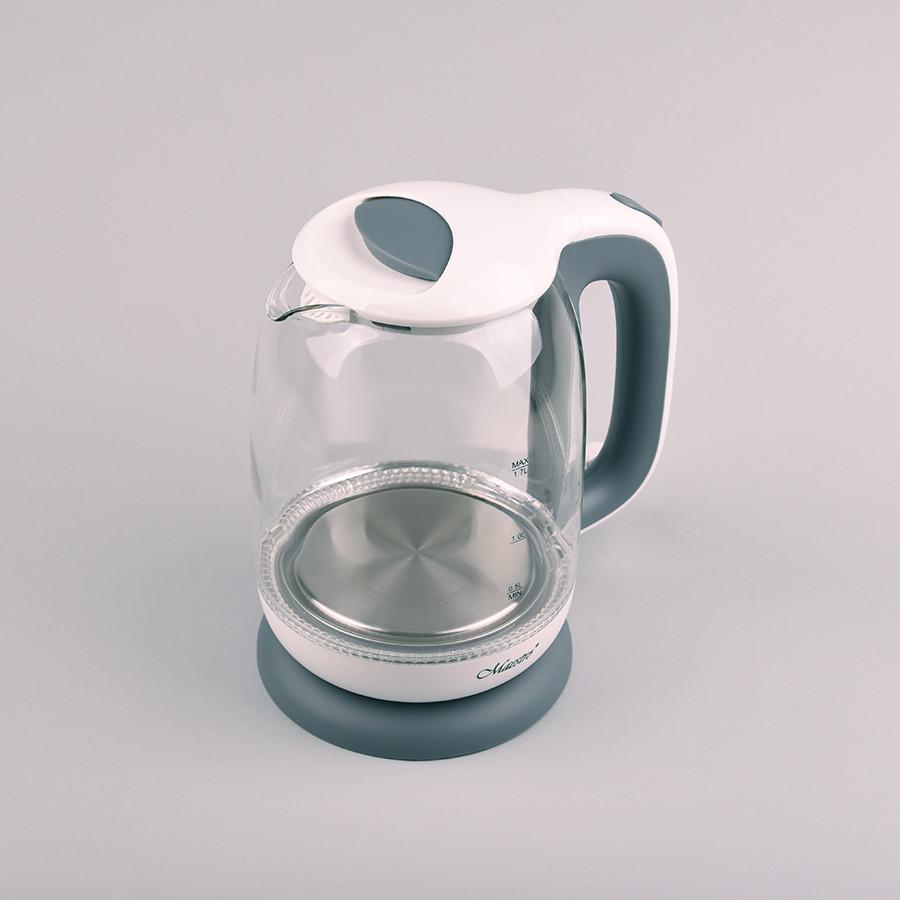 Электрочайник Maestro Mr-056 Белый Электрический Чайник