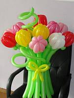 Цветы из шаров фото, фото 1