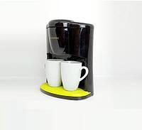 Кофеварка Crownberg Cb-1560 Чёрная 600 Вт Капельная Кофеварка С 2 Чашками, фото 1