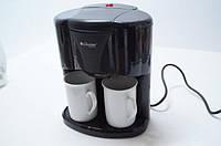 Кофеварка  Livstar Lsu-1190 Чёрная 650 Вт Капельная Кофеварка С 2 Чашками, фото 1