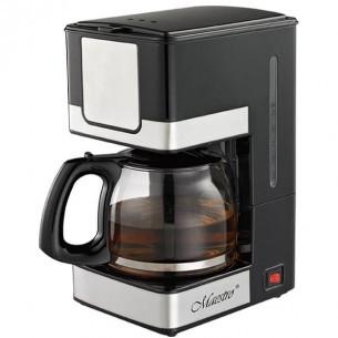 Кофеварка Maestro Mr-405 Чёрная 800 Вт Капельная Кофеварка Со Стеклянной Колбой
