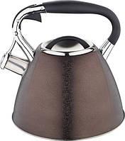 Чайник Lessner 49515 Mix Шоколадный Чайник Со Свистком 3 Л