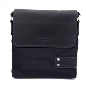 Сумка через плечо Polo Videng D-07 Quality Replica (Black) | Мужская сумка
