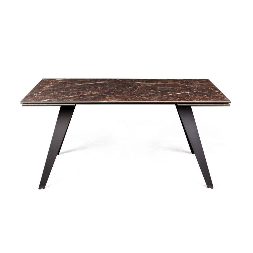Стол KEEN DARK EMPERADOR коричневая керамика 160/240 от Сoncepto